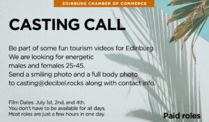 Edinburg, TX Casting Call